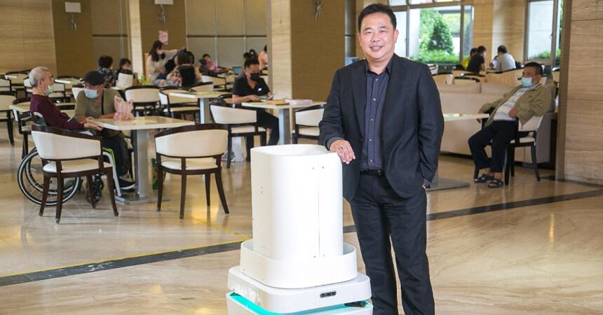翻轉未來,微星科技加速防疫機器人進軍長照產業